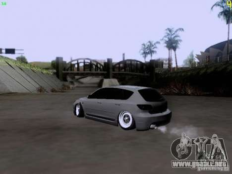 Mazda Speed 3 Stance para GTA San Andreas left