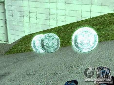Monedas de 5 rublos para GTA San Andreas segunda pantalla