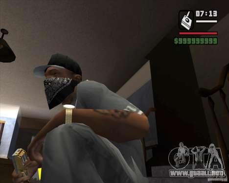 Detector de l. a. t. s. k. e. R # 1 para GTA San Andreas segunda pantalla