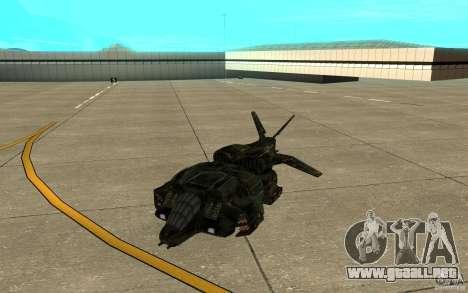 El transbordador desde el juego Aliens vs Predat para GTA San Andreas left