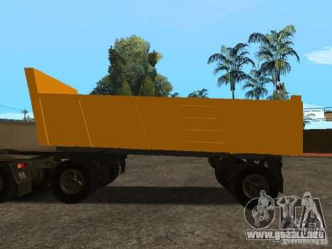 GKB 8350 Flatbed para GTA San Andreas left