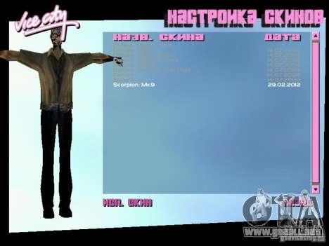 MK 9 Scorpion Costume para GTA Vice City segunda pantalla
