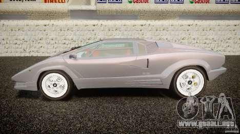 Lamborghini Countach para GTA 4 left