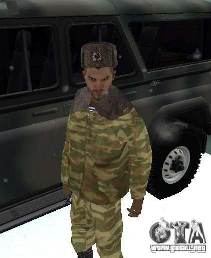 Dembele Covetskoj ejército para GTA San Andreas