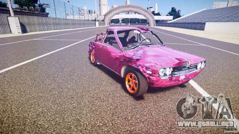 Datsun Bluebird 510 Tuned 1970 [EPM] para GTA 4 interior