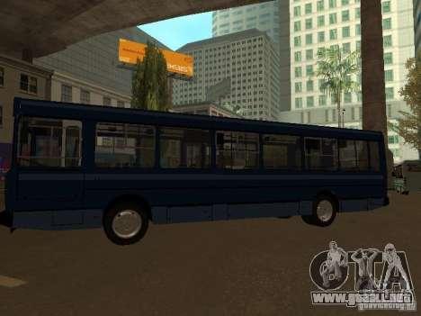 YAZ 5267 para GTA San Andreas vista posterior izquierda