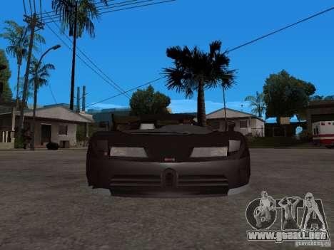 Buggati EB110 para la visión correcta GTA San Andreas