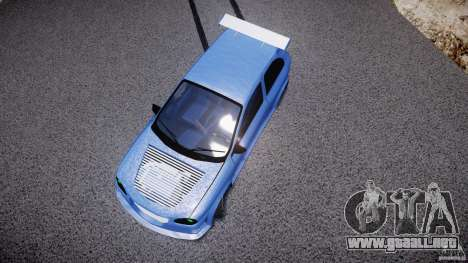 Chevrolet Corsa Extreme Revolution para GTA 4 vista desde abajo