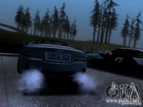 Aston Martin DB9 Volante 2006 para GTA San Andreas left