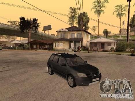 Mitsubishi Outlander 2003 para la visión correcta GTA San Andreas