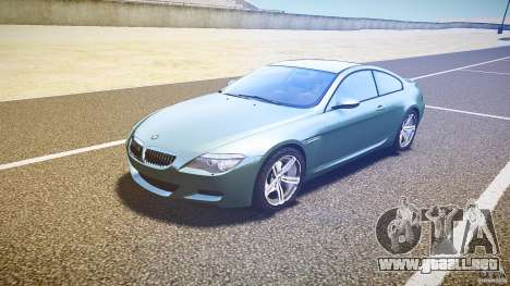 BMW M6 v1.0 para GTA 4 left