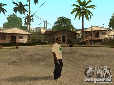 Camiseta con hierba para GTA San Andreas tercera pantalla
