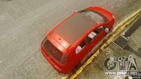 Fiat Punto Evo Sport 2010 para GTA 4 visión correcta