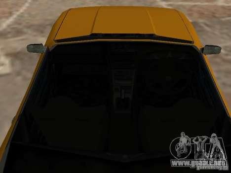 Elegía de tapas convertibles para GTA San Andreas vista hacia atrás