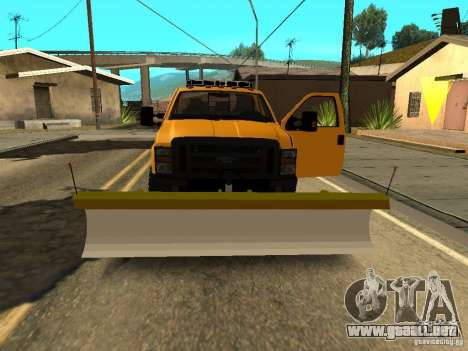 Ford Super Duty F-series para visión interna GTA San Andreas