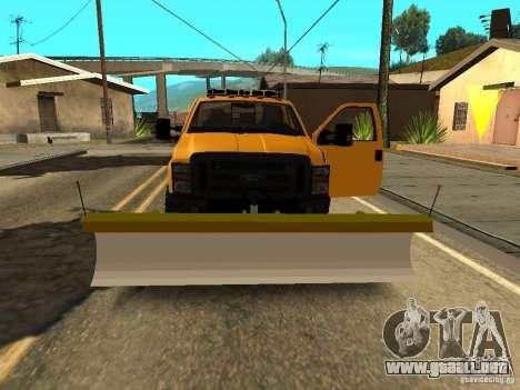 Ford Super Duty F-series para visión interna GTA San Andreas