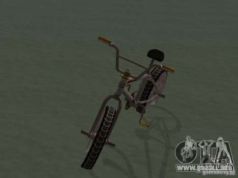 New Bmx para la visión correcta GTA San Andreas