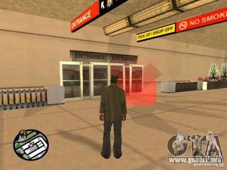 Piloto de trabajo para GTA San Andreas tercera pantalla