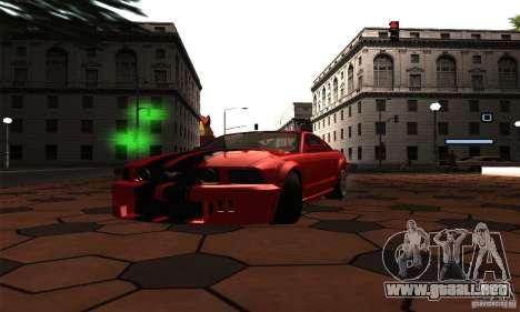 ENB Series 2013 HD by MR para GTA San Andreas sucesivamente de pantalla