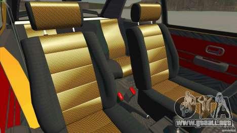 Opel Kadett D GTE Mattig Tuning para visión interna GTA San Andreas