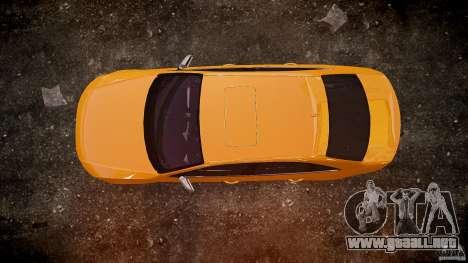 Audi S4 2010 para GTA 4 vista superior