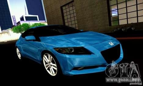 Honda CR-Z 2010 V2.0 para la visión correcta GTA San Andreas