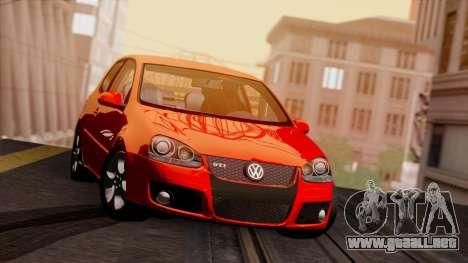 VW Golf V GTI 2006 para GTA San Andreas left