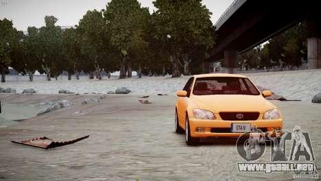 Toyota Altezza Gita Version 2 para GTA 4 visión correcta
