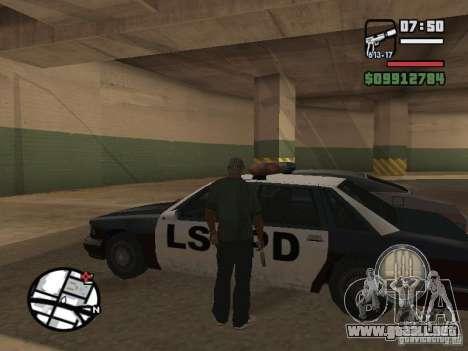 Recogida de bloqueo para las máquinas como en Ma para GTA San Andreas tercera pantalla