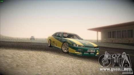 Nissan S14 para la vista superior GTA San Andreas