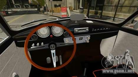 Syrena Coupe V8 para GTA 4 vista hacia atrás