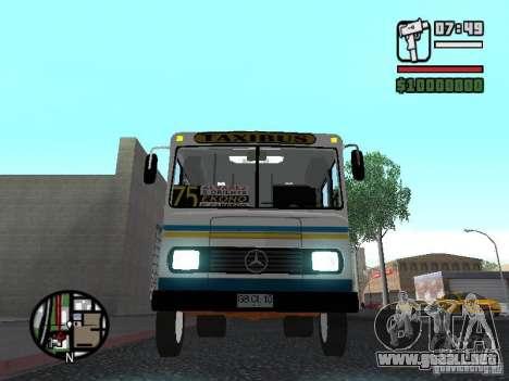 Cuatro Ases M.Benz LO608D para la vista superior GTA San Andreas