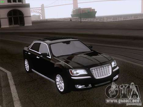 Chrysler 300 Limited 2013 para la visión correcta GTA San Andreas