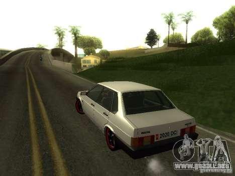VAZ 21099 v. 2 para visión interna GTA San Andreas