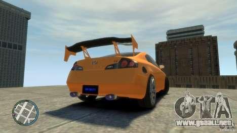 INFINITI G35 COUPE TUNNING para GTA 4 left