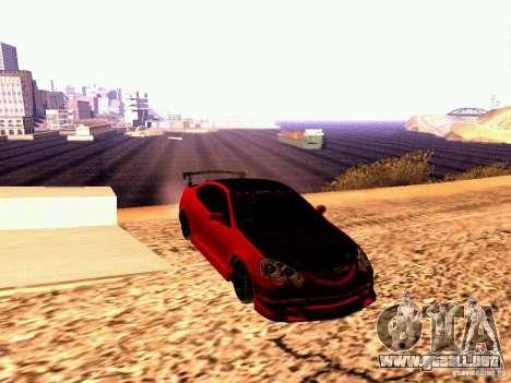 Acura RSX Drift para la visión correcta GTA San Andreas
