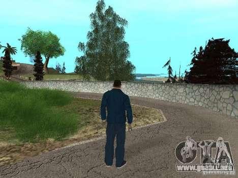 CJ Mafia Skin para GTA San Andreas sexta pantalla