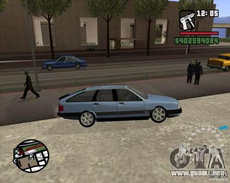 Audi 100 Avant para la visión correcta GTA San Andreas