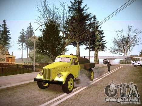 GAZ 51 Assinizator para la visión correcta GTA San Andreas