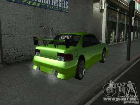 Colores más brillantes para los coches para GTA San Andreas