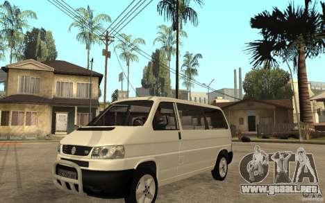 Volkswagen Transporter T4 para GTA San Andreas