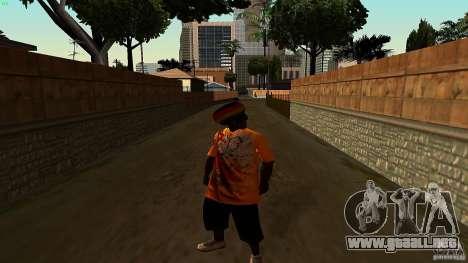 Jamaican Guy para GTA San Andreas segunda pantalla