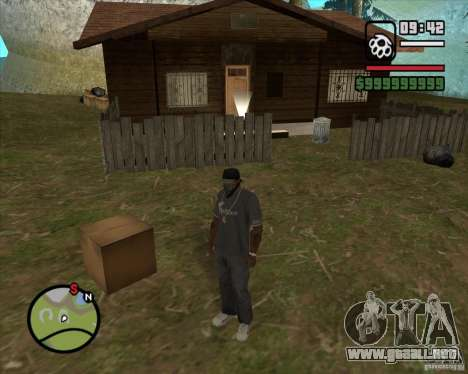 Casa Hunter v2.0 para GTA San Andreas tercera pantalla
