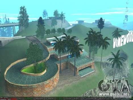 Nueva Villa Med-Dogg para GTA San Andreas segunda pantalla