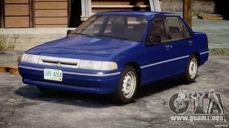 Mercury Tracer 1993 v1.0 para GTA 4