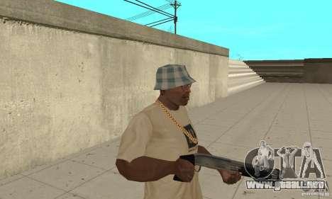 Fuerzas especiales de Estados Unidos de escopeta para GTA San Andreas segunda pantalla