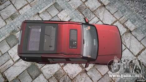 Land Rover Discovery 4 2011 para GTA 4 vista superior