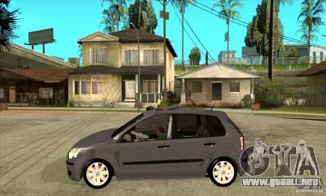 Volkswagen Polo 2008 para GTA San Andreas left