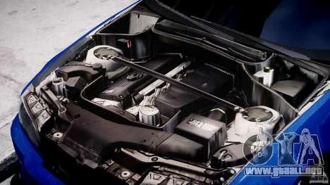 BMW M3 E46 Tuning 2001 para GTA 4 vista hacia atrás