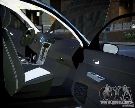 Volvo C30 2009 para GTA 4 vista superior